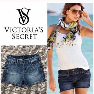 Victoria's Secret Denim Jean Stretch Shorts